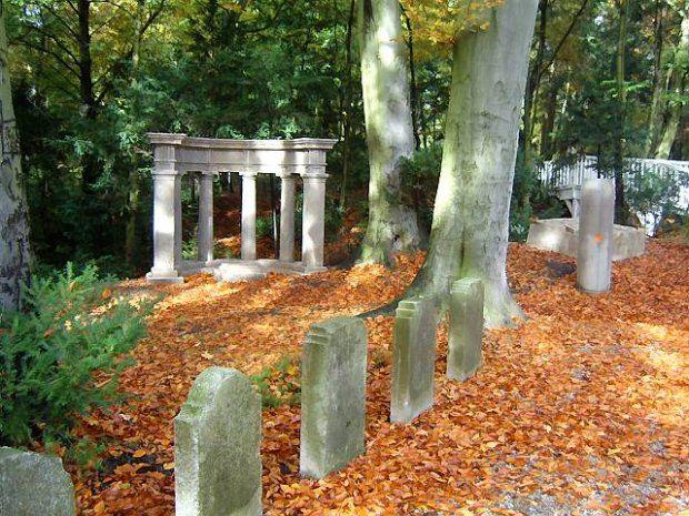 Lapidarium, czyli gaj urnowy - Cmentarz Centralny w Szczecinie