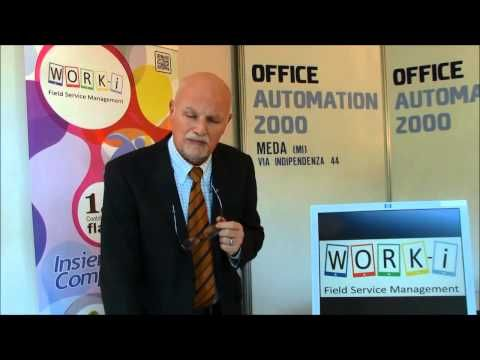 WORK-I Software per la gestione di interventi tecnici, assistenza tecnica e manutenzione di gestione post-vendita. App per l'uso mobile da tablet o smartphone