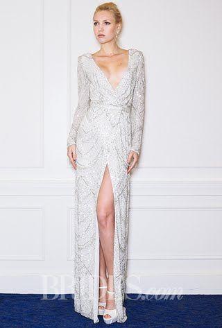 Alon Livné Wedding Dresses - Fall 2015 - Bridal Runway Shows - Brides.com   Brides.com