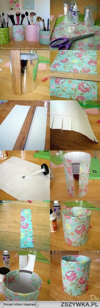 Diy--Never know how to make a flawless edge when folding over.  Gotta try this next time!