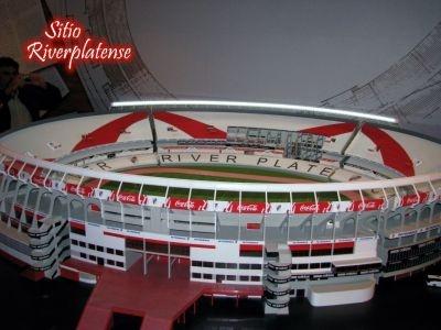 Maqueta del Estadio Antonio Vespucio Liberti - River Plate