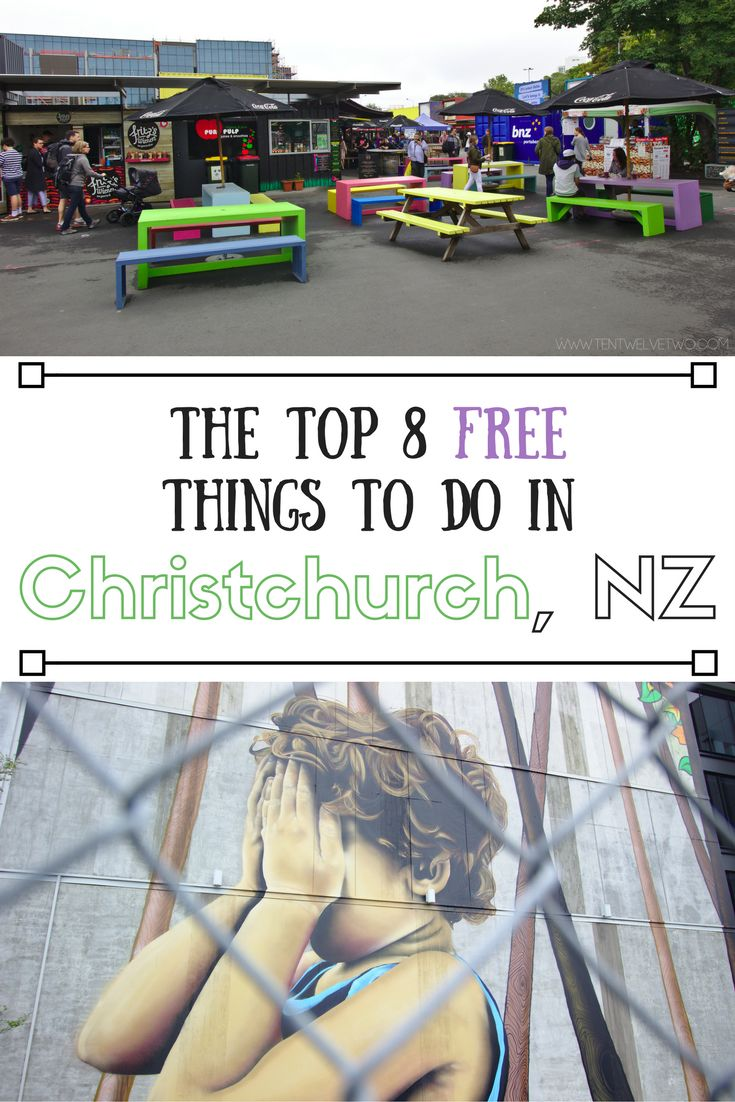 Top 8 free things to do in christchurch new zealand