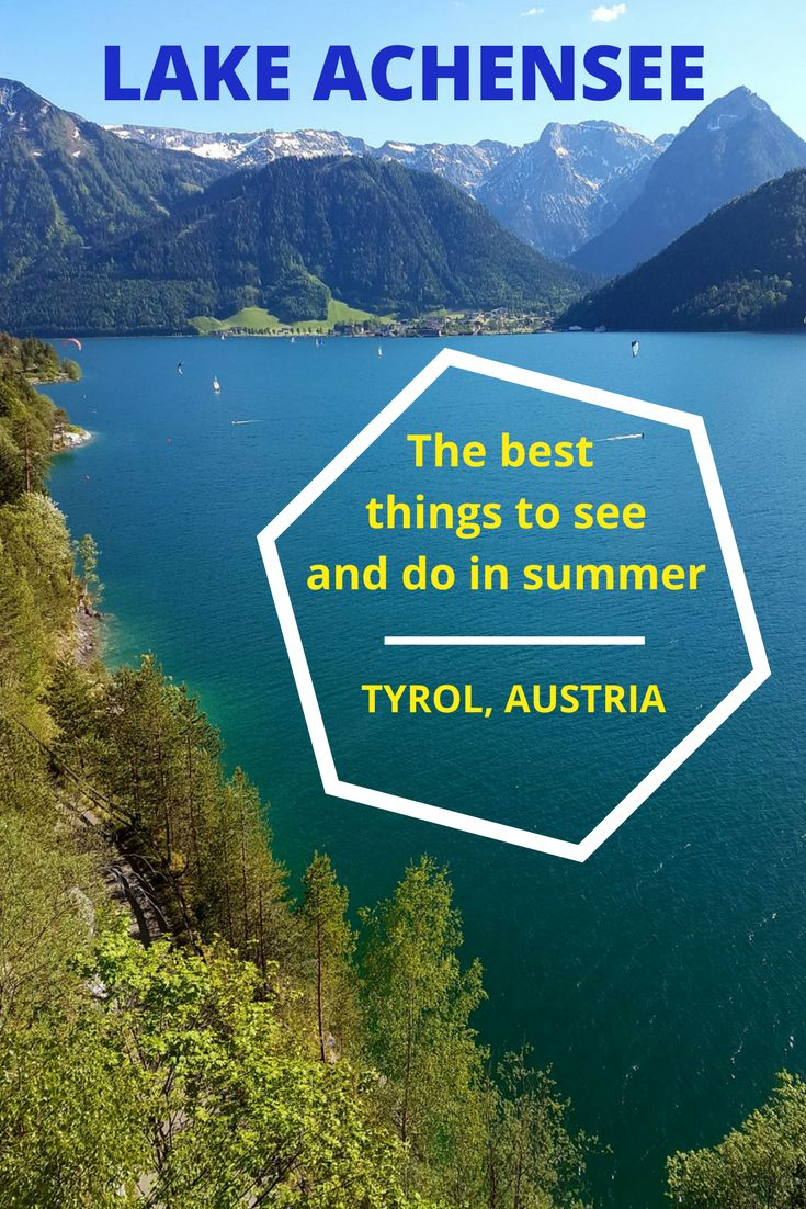 The Achensee or Lake Achen is the largest Alpine lake in the Austrian Tyrol. From the lakeside villages and beaches to scenic hiking routes, boat rides, and cable car trips - this guide shows you everything there is to see and do around Lake Achensee in Austria.
