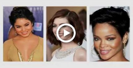 Short hairstyles for brunettes