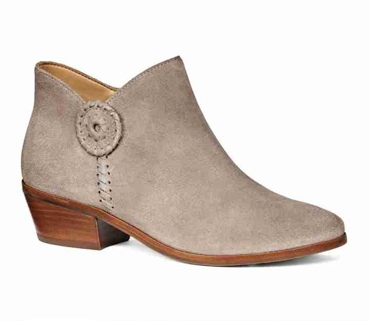 Peyton Bootie Olive Suede - Jack Rogers USA