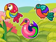 The awesome spectrum of birds that god made keeps most of us spell bound. Enjoy the cute little creatures as you match them all to win and enjoy the game.