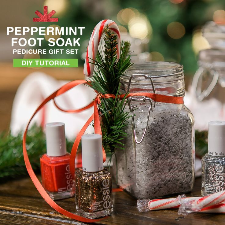 Peppermint Foot Soak Make her pedicure kit... - Walgreens on Tumblr - Smile
