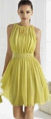 Как красиво сшить платье из шифона