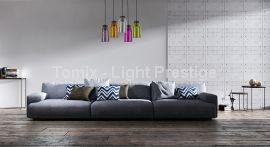 Lampa wisząca Vasto kol. bursztynowy (LP-42086/1P) Light Prestige