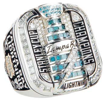 Tampa Bay Lightning Stanley Cup ring