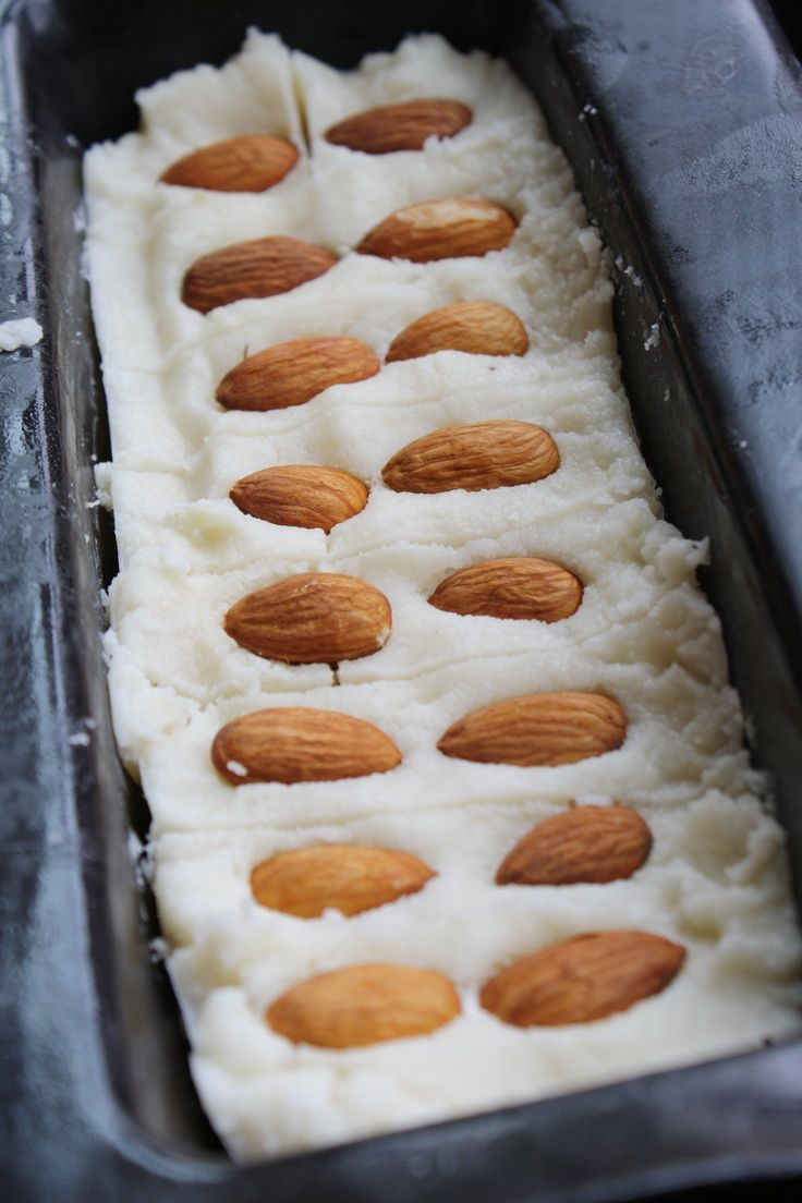 Homemade mounds/almond joy bars for my prego Tori:)