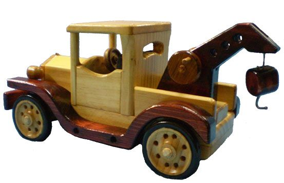 Wooden Toy Tow Truck Plans - WoodWorking Projects & Plans