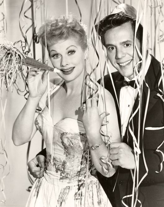 I Love Lucy - Lucy and Desi -- Happy New Year