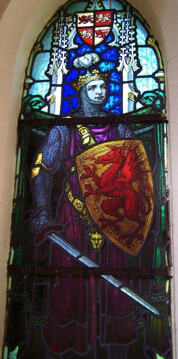 "Prince LLywelyn -- Wales, Trefriw -- photo by ""jmc4 - Church Explorer"", 2013"