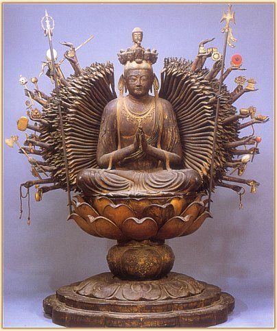 Senju #Kannon #buddhist #art