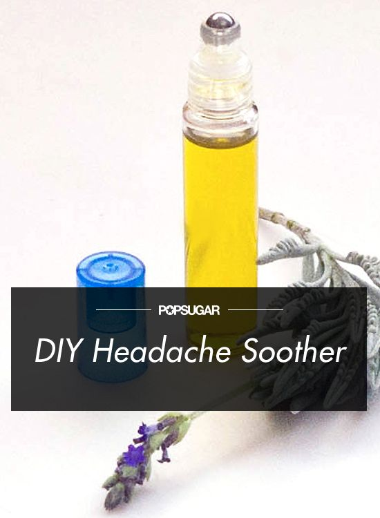 Stop Pounding Temples With This DIY Natural Headache Soother