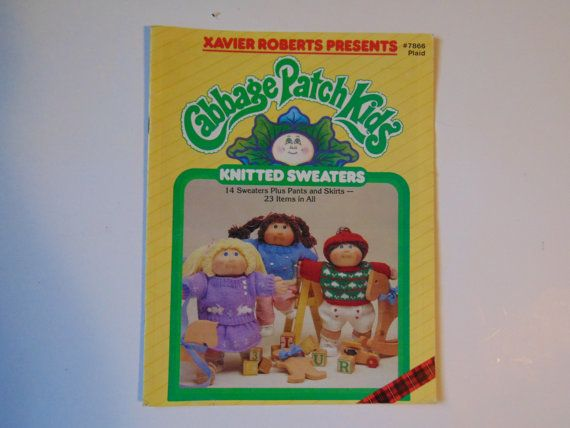 Xavier Roberts presents cabbage patch kids by TrinasCraftPatterns