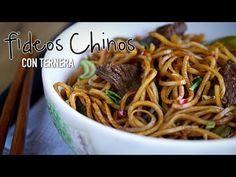 Vídeo-receta: fideos fritos chinos con ternera   Sabor de Asia