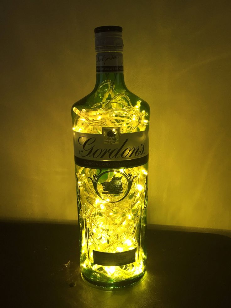A personal favourite from my Etsy shop https://www.etsy.com/uk/listing/540451683/upcycled-gordons-gin-led-bottle-lamp-gin