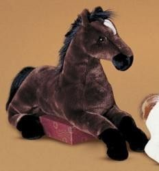 Douglas Cuddle Toy Zoe Big Bay Stuffed Plush Horse twenty-seven inch long plush horse that is ready to be taken everywhere by your little horse lover!  Shop www.HorseToysSuperstore.com for all your horse toys and gifts!
