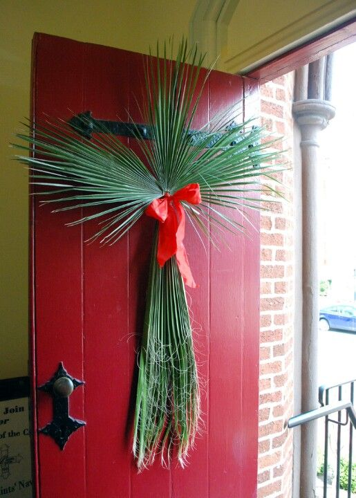 2014 All Saints' Church Palm Sunday Front Door
