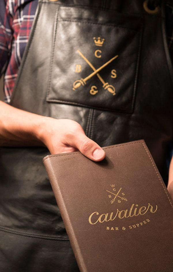 Cavalier Bar & Supper on Behance - Matt Vergotis