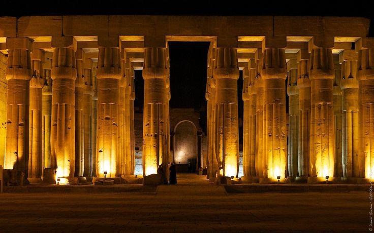 Säulen im Luxor Tempel, Ägypten 2011 von Daniel Giesen