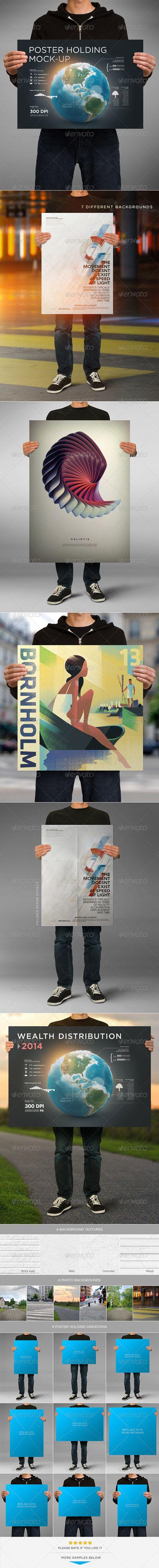 6 poster design photo mockups 57079 - 6 Poster Design Photo Mockups 57079 6 Poster Design Photo Mockups 57079 Poster Holding Mock