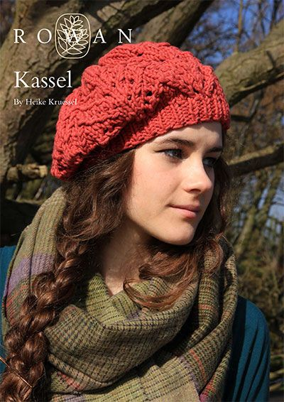 Knitting Patterns For Berets And Hats : Rowan Free Knitting Patterns (Men & Women) (using All Seasons Cotton) - R...
