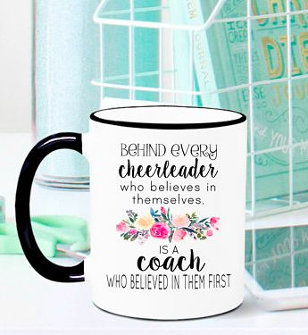 Cheerleading Coach Mug, Cheer Coach Mug, Cheerleading Coach Gift, Cheer Coach Gift, Cheer Gift, Coach Gift, Coach Mug, Coach Appreciation #ad