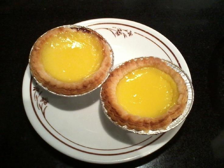 Delish egg tarts!