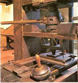 La primera imprenta de América nació en El Salvador, LA UNIVERSAL impresora : 24 DE JUNIO DÍA DEL TIPOGRAFO.