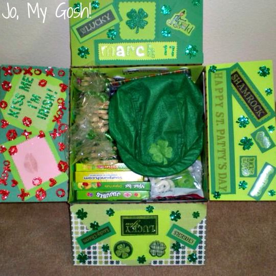27 best st patricks day care packages images on pinterest gift 6 care packages for special events and holidays negle Images