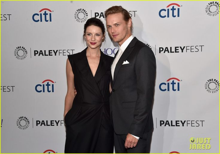 caitriona balfe boyfriend | Caitriona Balfe & Sam Heughan Hit PaleyFest 2015 for 'Outlander ...