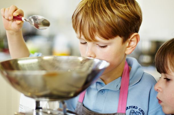 Getting kids to cook can be difficult. Try this simple recipe with them!