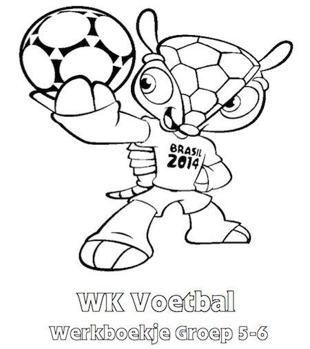 WK Voetbal Werkboekje Groep 5-6