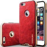 """iPhone 6 Plus Case, Caseology [Bumper Frame] Apple iPhone 6 Plus (5.5"""" inch) Case [Leather Burgundy Red] Slim Fit Skin Cover [Shock Absorbent] TPU Bumper iPhone 6 Plus Case [Made in Korea] (for Apple iPhone 6 Plus Verizon, AT&T Sprint, T-mobile, Unlocked) - http://www.outerboxes.net/iphone-6-plus-case-caseology-bumper-frame-apple-iphone-6-plus-5-5-inch-case-leather-burgundy-red-slim-fit-skin-cover-shock-absorbent-tpu-bumper-iphone-6-plus-case-made-in-korea-for-apple/ -"""
