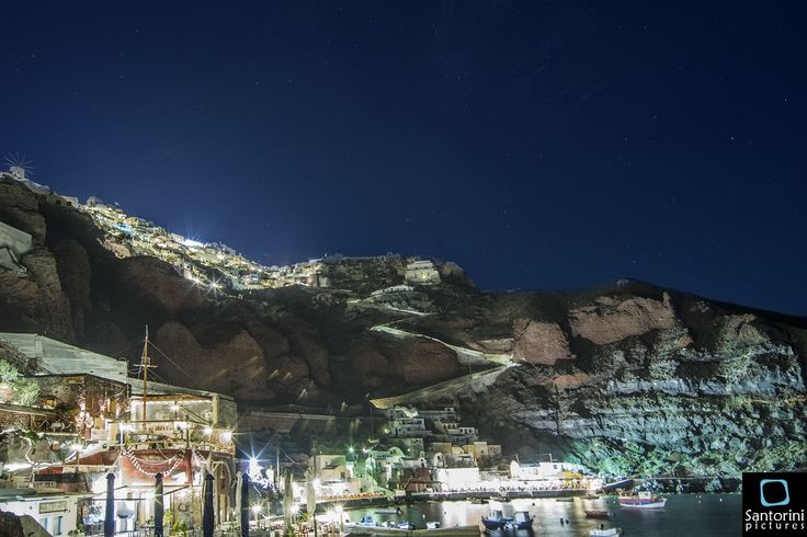 Ammoudi at Santorini