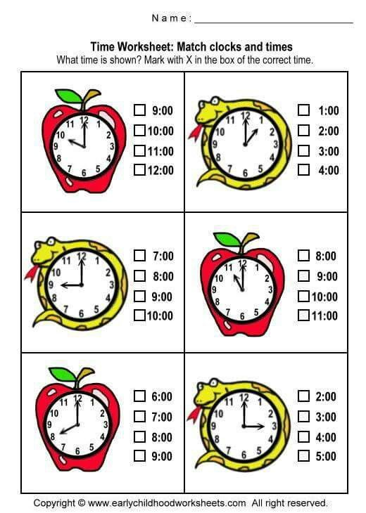 13 Best Time Images On Pinterest Maths Telling Time