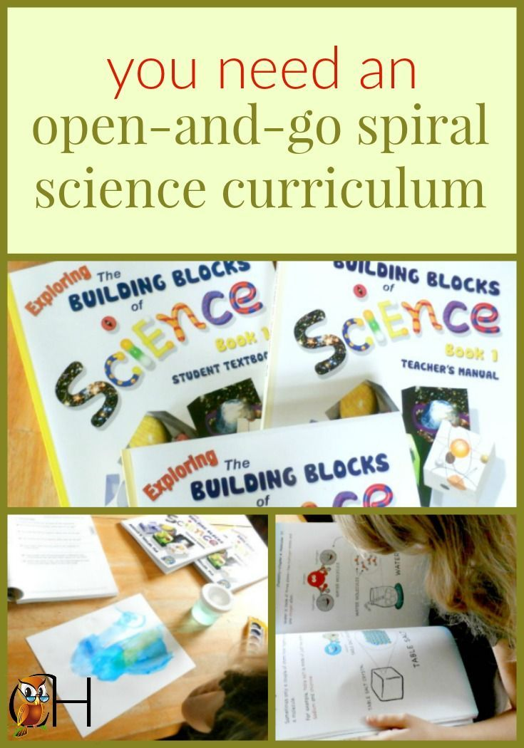Homeschooling science is easy when you use an open-and-go science curriculum!!! #sciencecurriculum #science #homeschool