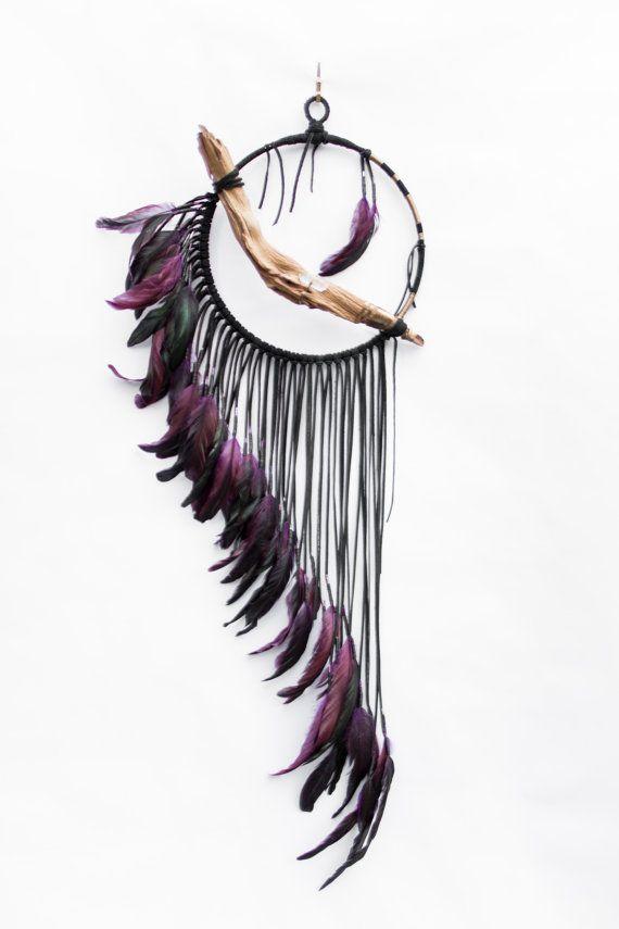 BartonHollow Driftwood Dreamcatcher ' Raven   https://www.etsy.com/listing/266498169/driftwood-dreamcatcher-raven-10