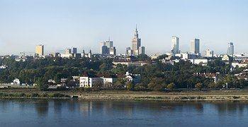 Warszawa, Polska, Miasto, Wisła