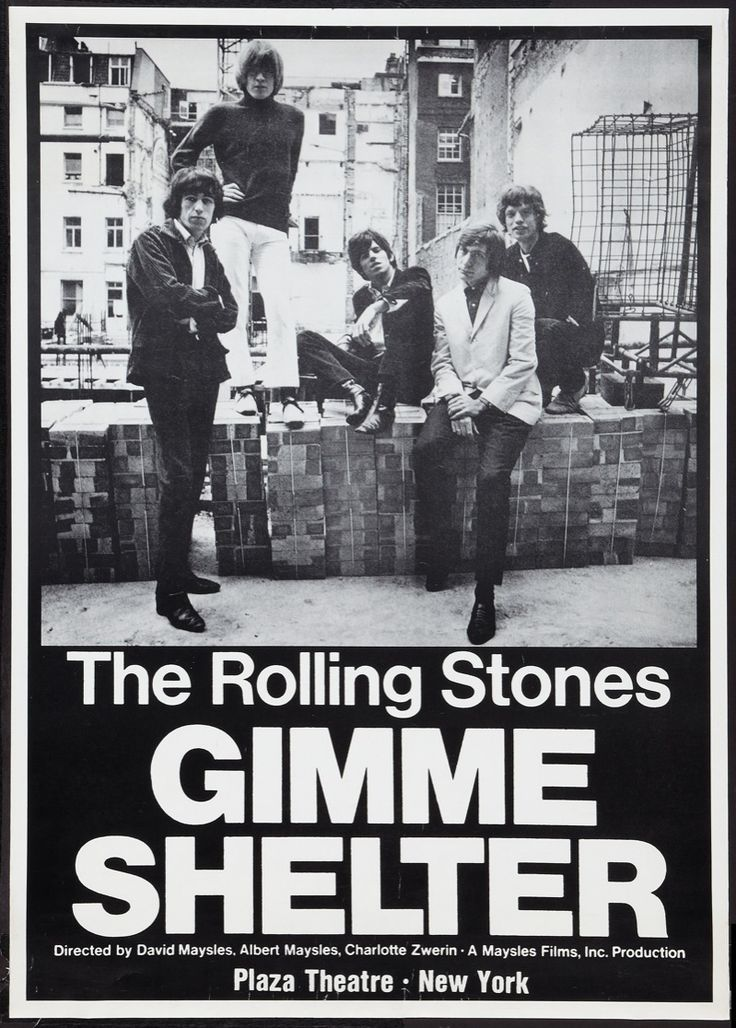 MovieArt Original Film Posters - GIMME SHELTER (1971) 21498, $1,500.00 (http://www.movieart.com/gimme-shelter-1971-21498/)