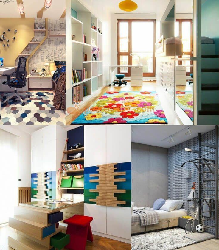 High Tech Kids Room Design • High Tech Interior Design • High Tech Home | Explore more High Tech Kids Room Ideas on https://positivefox.com