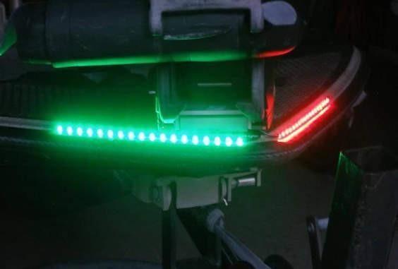 Led Red Green Navigation Light Strips Set Boat Led Led Navigation Lights Bass Boat