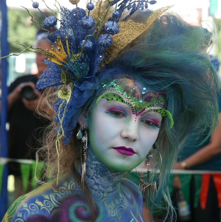 Australian Body Art Carnivale Eumundi - each year in May www.australianbodyart.com.au