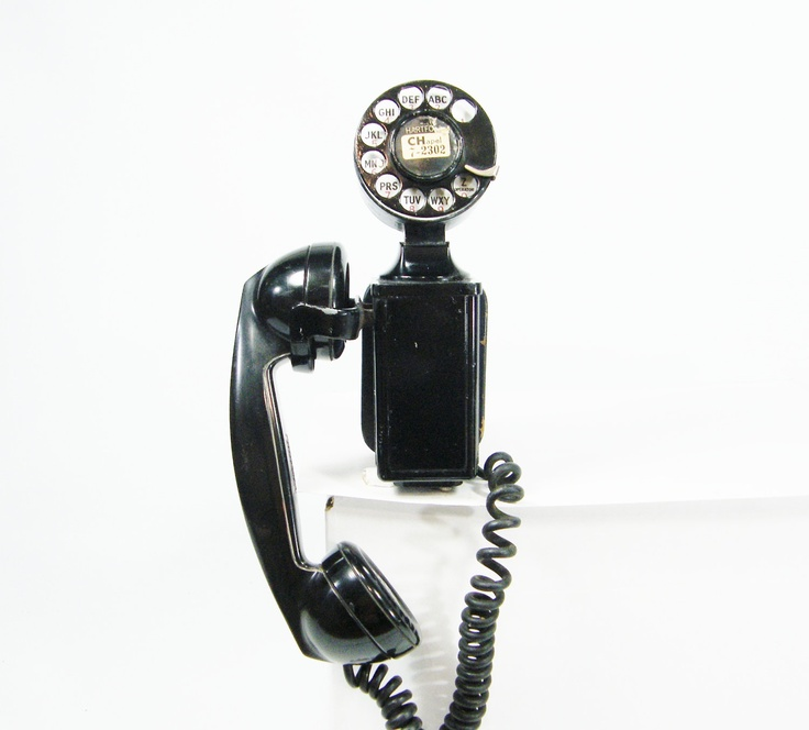 Who Is Talking About 57 Distinct House Electrical Design: Black Telephone Rotary Dial Phone Prop