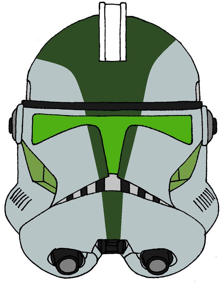 Clone Trooper Commander Gree's Helmet 2