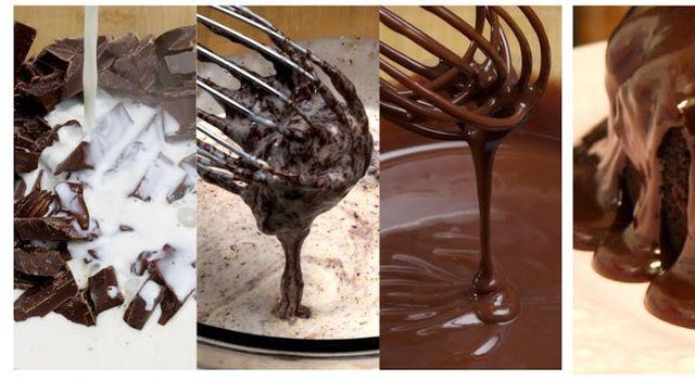 Čokoládové ganache