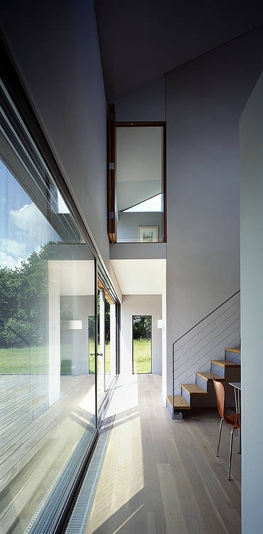 duckett house, new forest, england; architect John pardey
